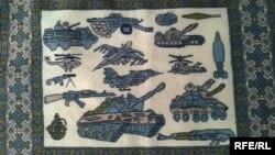 Новыя арнамэнты традыцыйных аўганскіх кілімоў