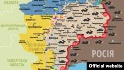 Сытуацыя ў зоне баявых дзеяньняў на Данбасе на 21 студзеня