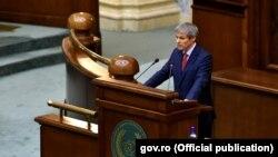 Premierul Dacian Cioloș în Parlamentul de la București