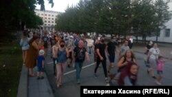 Протест у Хабаровську, 21 липня 2020 року