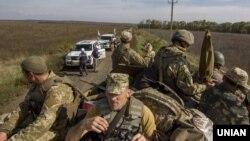 Українські війська під Богданівкою (архівне фото)