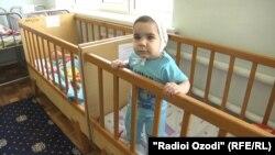 В детском доме №1 г. Душанбе