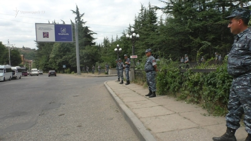 Security Beefed Up In Armenian Town After Unrest