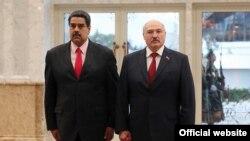Нікаляс Мадура і Аляксандар Лукашэнка, архіўнае фота