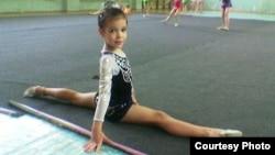 Лия нәфис гимнастика дәресендә