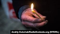 Фоторепортаж: у Києві вшанували жертв розстрілів у Сандармосі