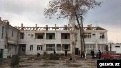 Подлежащий сносу дом в центре Ферганы. Фото с сайта Gazeta.uz.