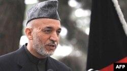 حامد کرزای، رييس جمهوری افغانستان. عکس از خبرگزاری (AFP).