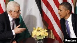 Բարաք Օբամայի եւ Մահմուդ Աբբասի հանդիպումը Նյու Յորքում, 21-ը սեպտեմբերի, 2011թ.