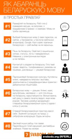 Як абараніць беларускую мову