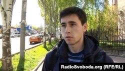 Учасник так званих «зборів резервістів» угруповання «ДНР»