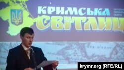 На 25-летии газеты «Кримська світлиця», Киев, декабрь 2017 года