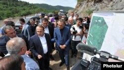Armenia - Prime Minister Hovik Abrahamian visits Tavush region,5Jul2014