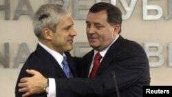 Susret Borisa Tadića i Milorada Dodika u Banjaluci