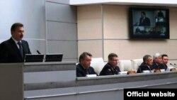 Хохоринны тәкъдим итәргә Мәскәүдән Русия министры урынбасары Сергей Герасимов һәм Татарстан җитәкчелеге килде