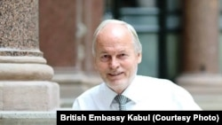 Career British diplomat Nicholas Kay is currently serving as NATO's senior civilian representative in Afghanistan (file photo).
