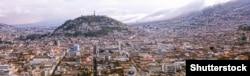Столиця Еквадору, над якою височіє скульптура Божої Матері