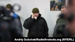 Игорь Дзюбак во время телефонного разговора с президентом Украины. 2 марта 2018 года