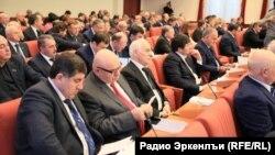 Дагестанские депутаты на сессии (архивное фото)
