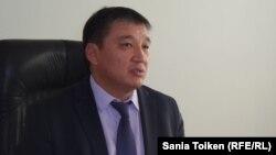 Серик Калдыгулов, заместитель акима города Жанаозена. Мангистауская область, 29 августа 2015 года.