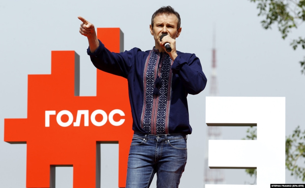 Rock Star Vakarchuk Sets Up Political Party Ahead Of Ukraine's General Elections
