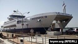 Керченская переправа, Крым