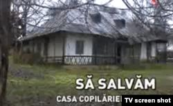 Imagine a unei emisiuni a TVR Iași din decembrie 2013