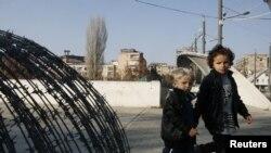 Kosovo, Mitrovica, ilustracija