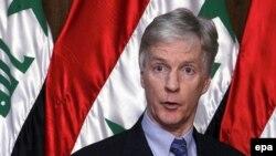 آقای کروکر می گوید که آمریکا در جنوب عراق در حال عملیات علیه ایران نیست.(EPA)