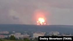 Взрыв на территории воинской части, расположенной в Ачинском районе Красноярского края