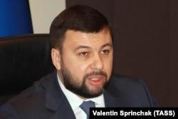 Денис Пушилин, лидер группировки «ДНР»