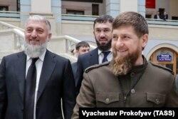 Кадыров Рамзан, Делимханов Адам, Даудов Мохьмад