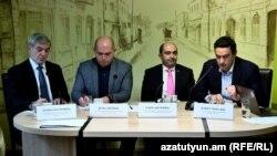 Քննարկում Հայաստան-ԵՄ նոր շրջանակային համաձայնագրի առաջիկա ստորագրման շուրջ, Երևան, 11-ը նոյեմբերի, 2017 թ․