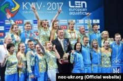 Украина – первая в командном зачете