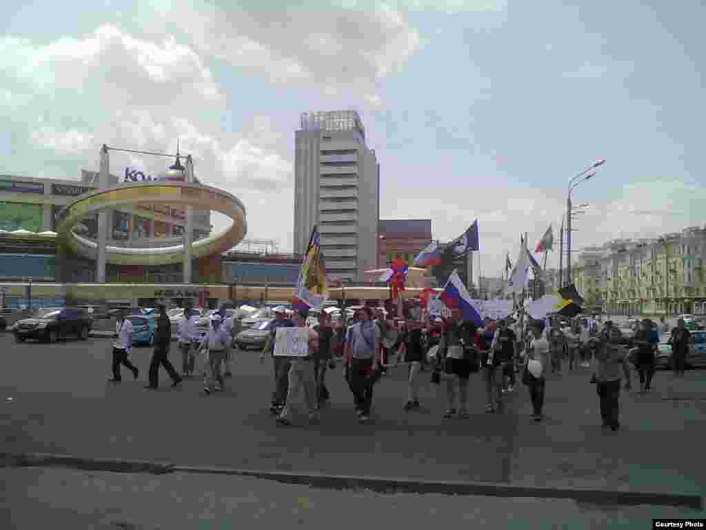 Russia -- March of millions, Kazan, 12Jun2012