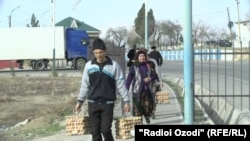 Tajik and Uzbek border residents are excited about the business opportunities as the border opens.
