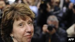 EU foreign affairs chief Catherine Ashton