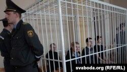 Суд над Вінаградавым, Кіркевічам, Драздом, Хамічэнкам і Пратасенем