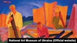 «Готування пилок», Олександр Богомазов. Національний художній музей України