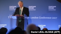 British Foreign Secretary Boris Johnson said in a speech on October 23 he believed the Iran nuclear deal will survive.