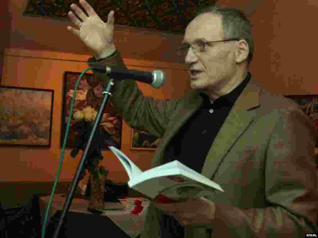 Прэзэнтацыя новай кнігі Ўладзімера Някляева