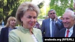 Марыяна Шчоткіна, архіўнае фота