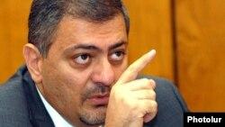 Вице-премьер, министр международной экономической интеграции и реформ Ваче Габриелян (архив)
