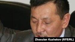 Активист движения «желтоксановцев» Курмангазы Рахметов. Астана, 24 марта 2011 года.