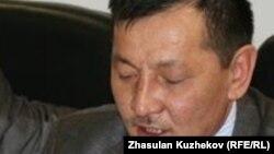 «Желтоқсан» қозғалысының белсендісі Құрманғазы Рахметов. Астана, 24 наурыз 2011 жыл.