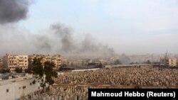 Бои в Сирии идут уже почти два года