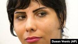 ندا امین، وبلاگنویس ایرانی که برای روزنامه «تایمز آو اسرائیل» به زبان فارسی وبلاگ مینوشت