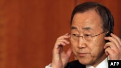"UN Secretary-General Ban Ki-moon said persecution of gays was ""an attack on the universal values the United Nations."""