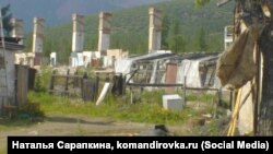 Официально несуществующий поселок Верхний Балагычан в Омсукчанском округе Магаданской области