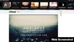 vimeo.com сайтының сайтынан скрин-шот. (Көрнекі сурет)